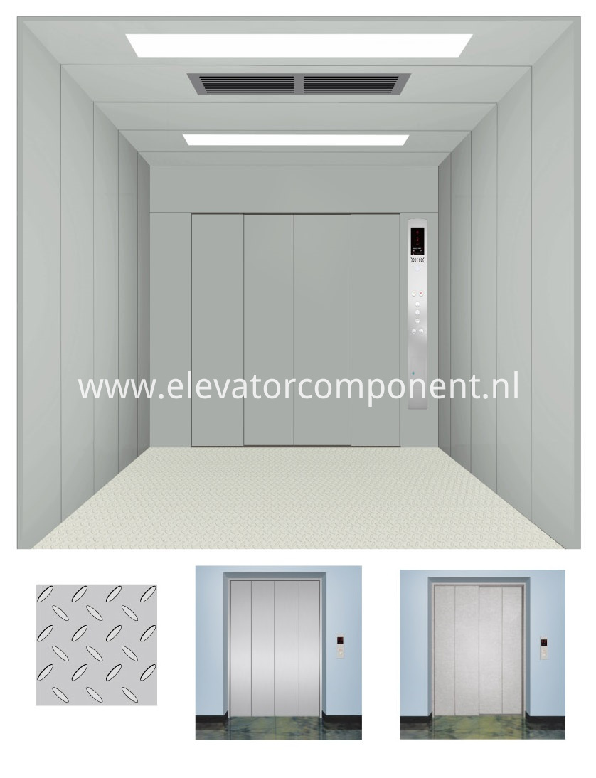 Mechanical Parts Package For Complete Cargo | Freight | Goods Elevator